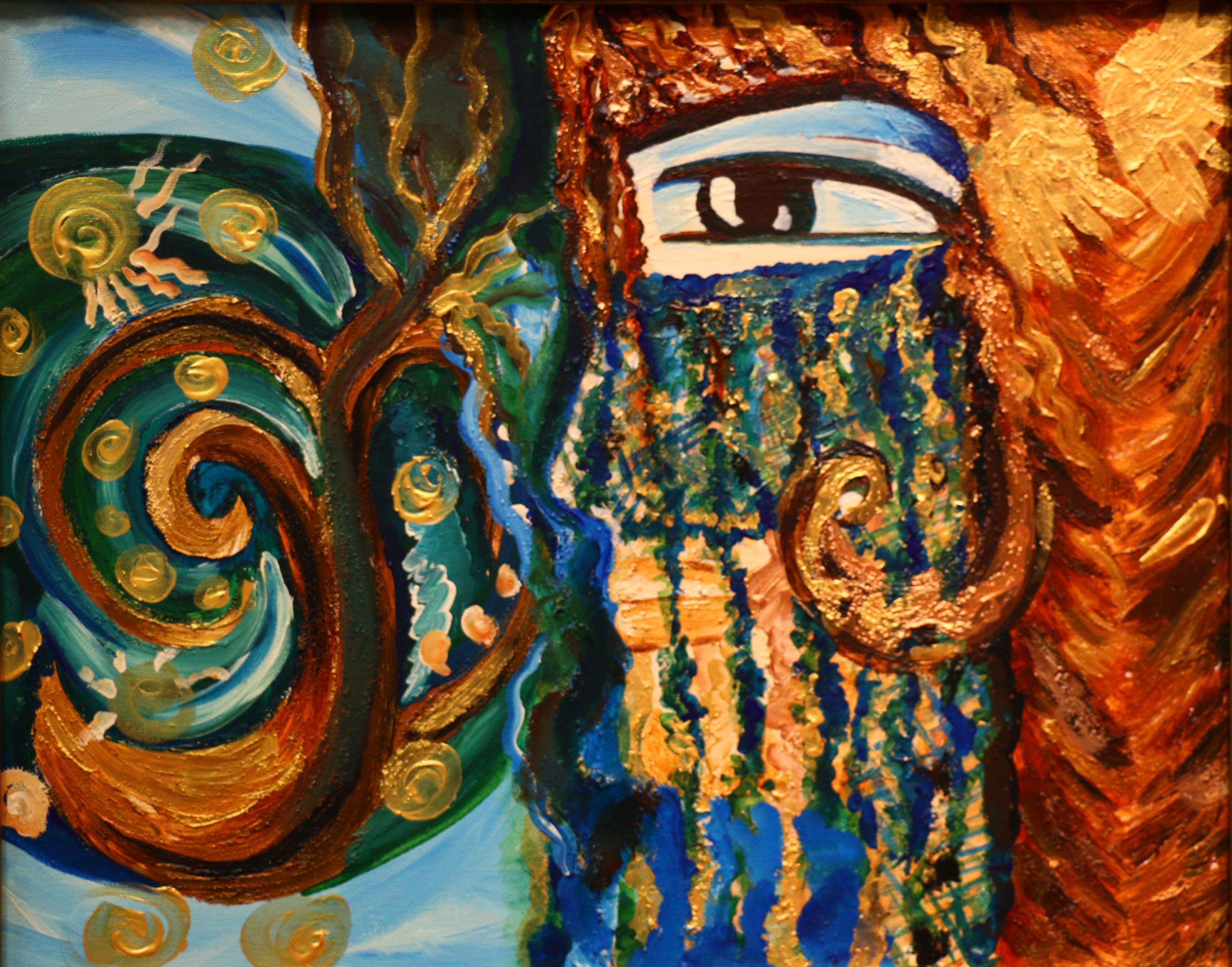 Eve persian art