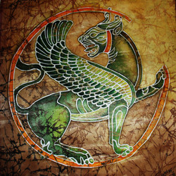 Ancient Persia- Winged Lion