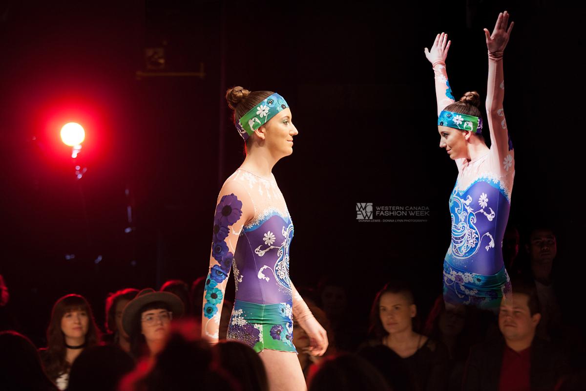 Purple Bird of Dream - Western Canada Fashion Week