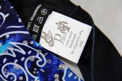 Deep Blue Persian Flower-Headband 4