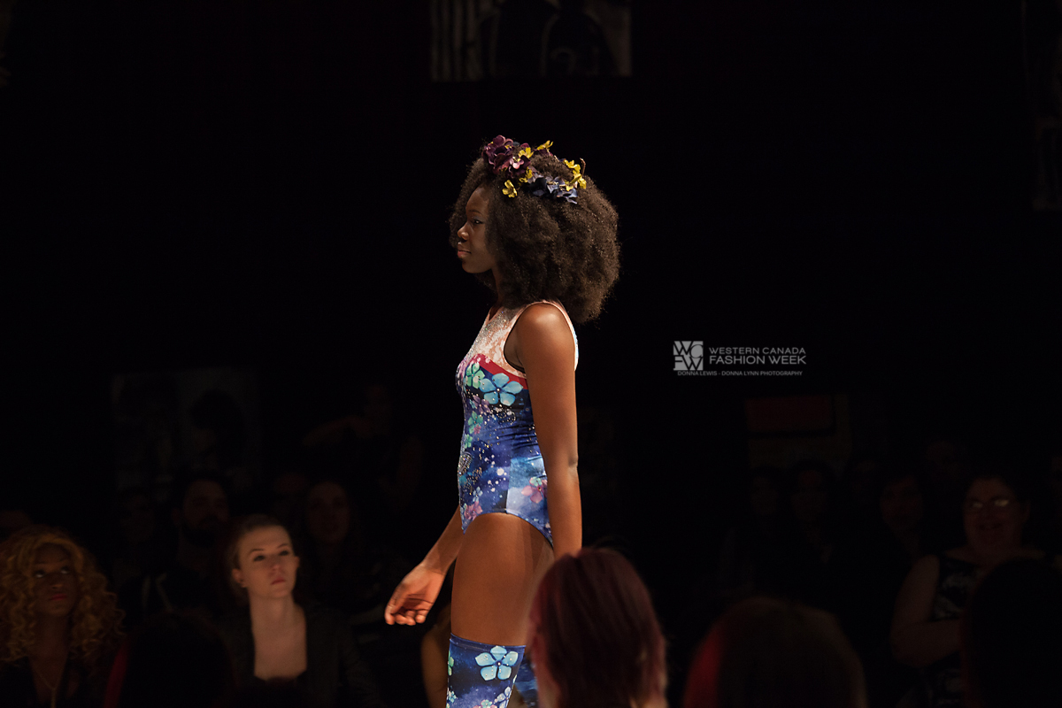 Dancing Butterflies & Flowers  in the Cosmo!Western Canada Fashion Week 5