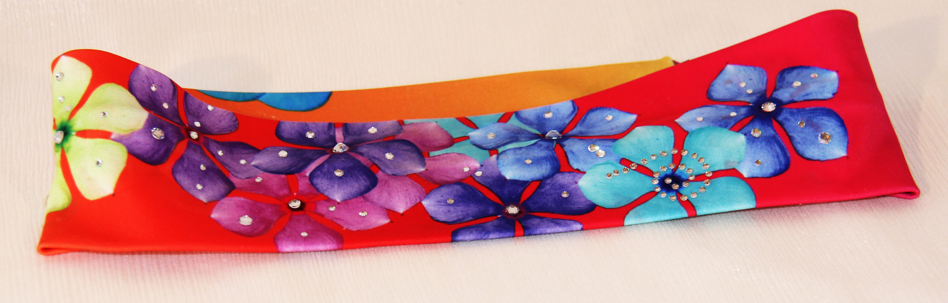 Yellow orange butterflies- Headband 2