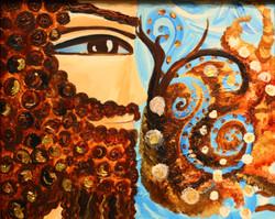 Adam persian art