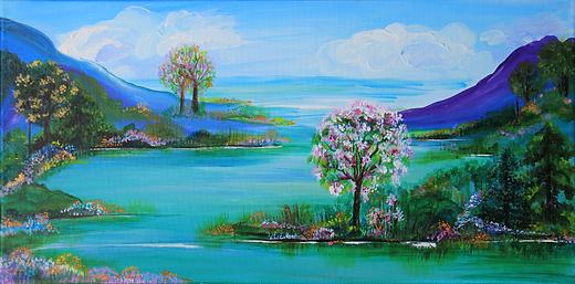 pari chehrehsa painting art calgary artist