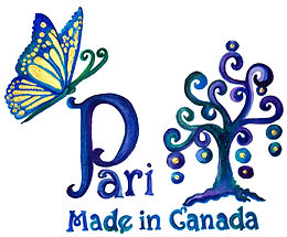 Hand-painted-silk-scarf-made in canada by fashion designer/textile artist pari chehrehsa| Calgary | Pari Silk Butterfly