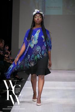 Hand painted silk scarf-Pari Chehrehsa - Designer Scarf- Canada 20185