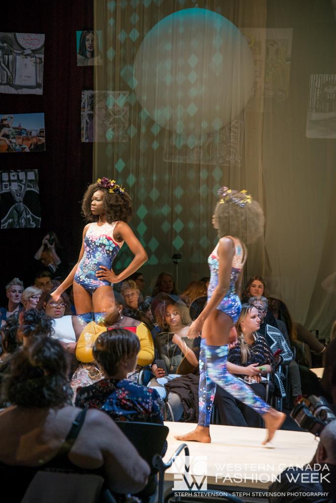 Dancing Butterflies & Flowers  in the Cosmo!Western Canada Fashion Week 2