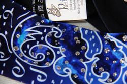 Deep Blue Persian Flower-Headband 3