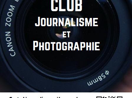 """Création d'un club """"journalisme"""""""