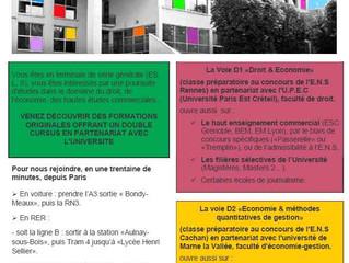 """""""Portes ouvertes des classes Préparatoires"""", Samedi 1er Février 2014 de 9h30 à 12h30 Lycé"""