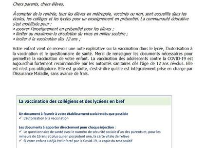 Information vaccination COVID
