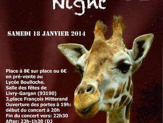 Soirée Senegal Night VI, organisée par l'association Salydarité du lycée.