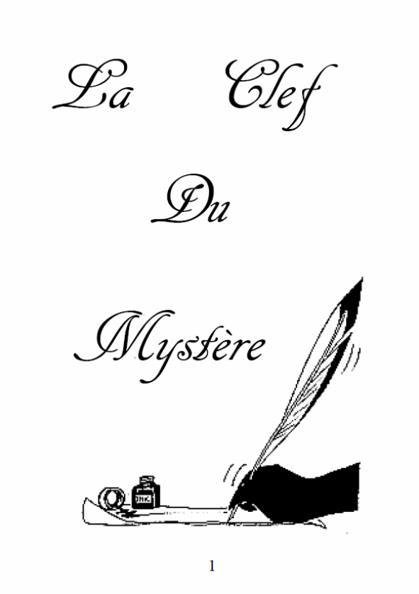 La clef du mystère