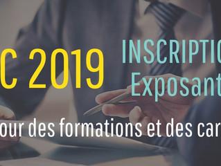 Carrefour des formations et de carrières 2019 - Inscription des exposants
