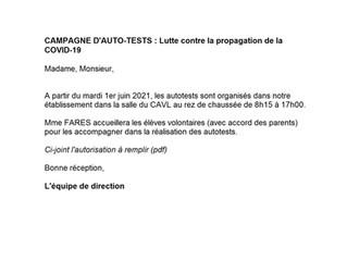 Auto-tests