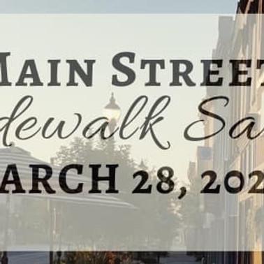 Main Street Side Walk Sales