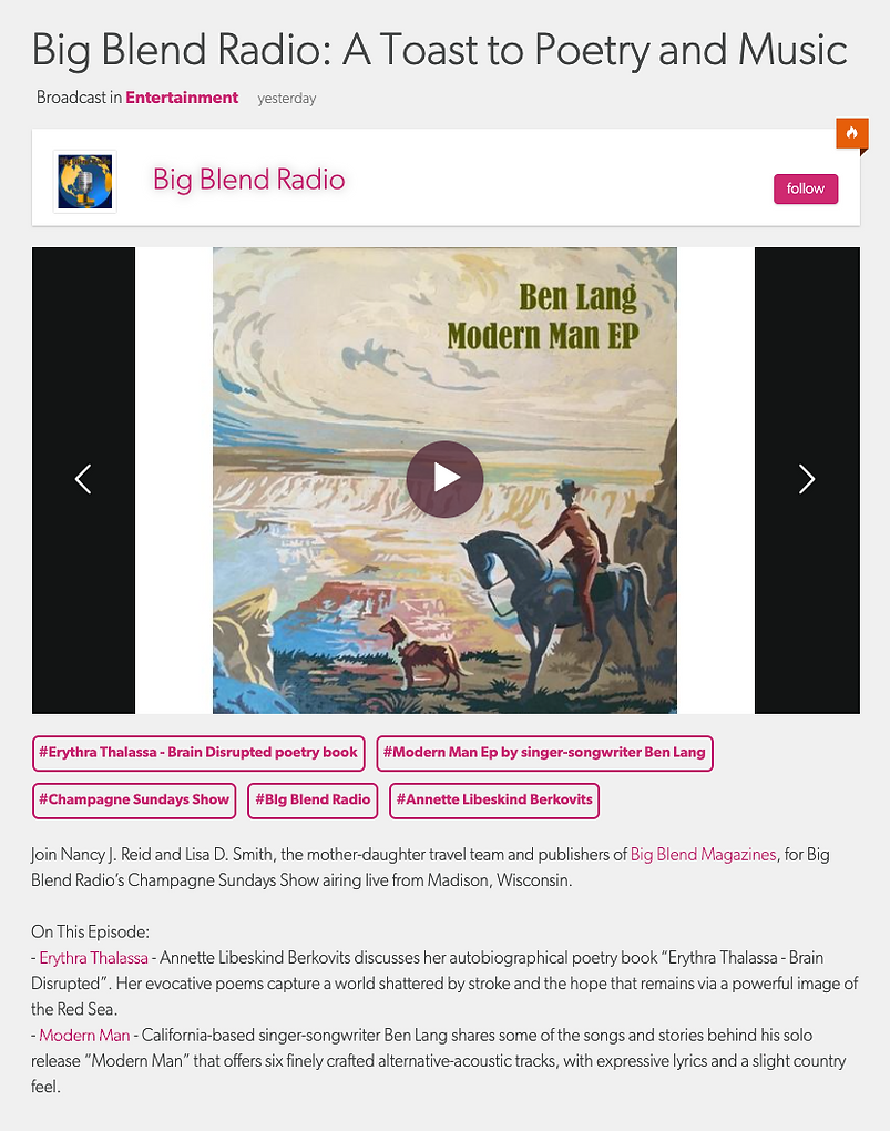 2020-12-13 Big Blend Radio Interview.png