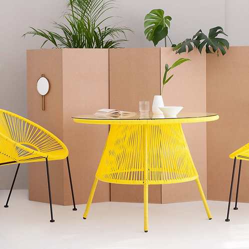 Yellow Acapulco Dining Table