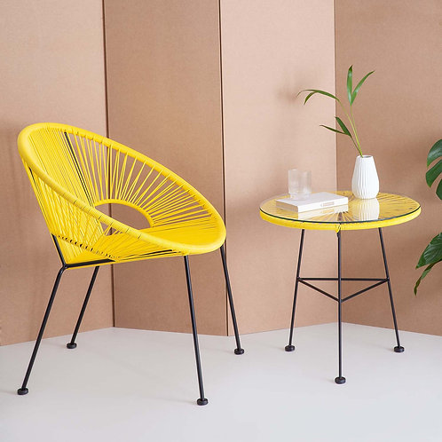 Yellow Acapulco Side Table