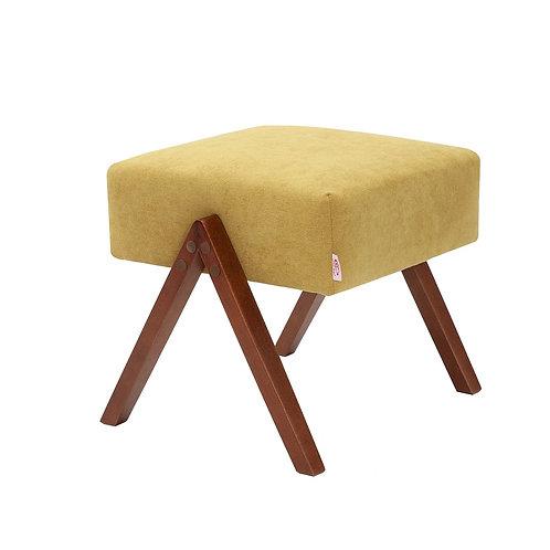 Retrostar Footstool - Classic Mustard