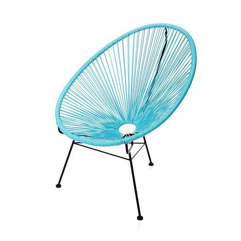 Blue Acapulco Lounge Chair