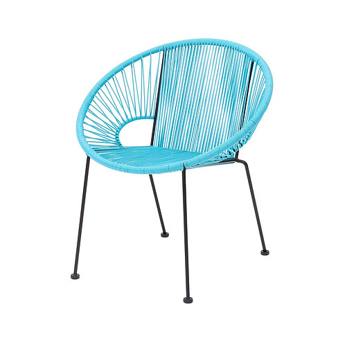 Blue Acapulco Dining Chair