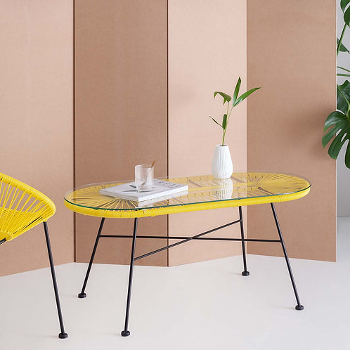 Yellow Acapulco Coffee Table