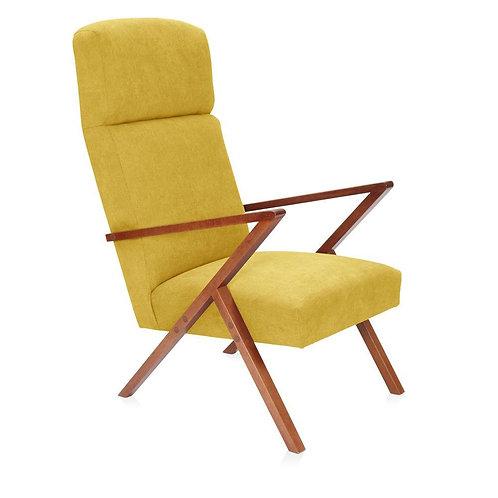 Retrostar Lounger - Classic Mustard Yellow
