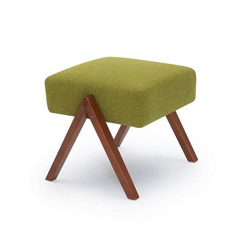 Retrostar Footstool - Classic Green