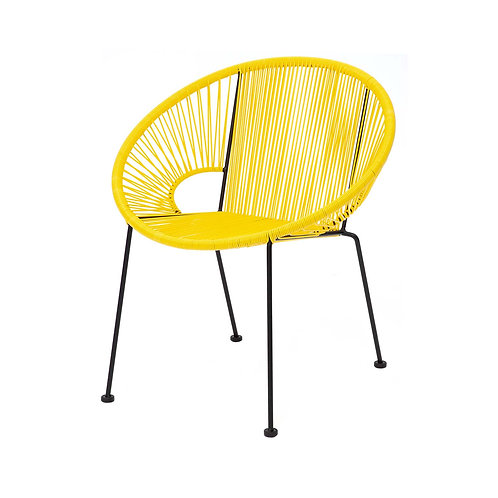 Yellow Acapulco Dining Chair