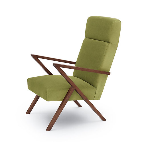 Retrostar Lounger - Velvet Apple Green