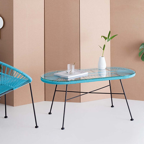 Blue Acapulco Coffee Table