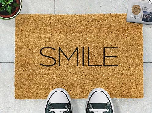 Smile Door Mat