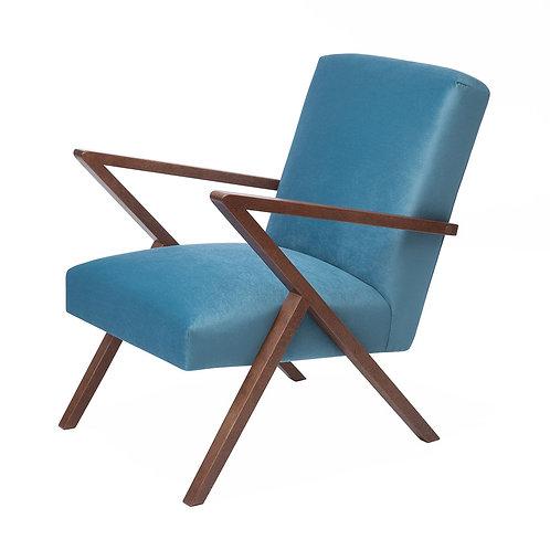 Retrostar Chair - Velvet Ocean Blue