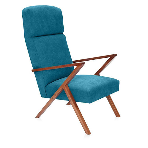 Retrostar Lounger - Classic Turquoise