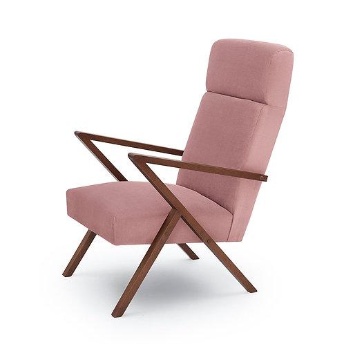 Retrostar Lounger - Velvet Pink