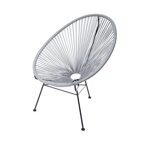 Grey Acapulco Lounge Chair