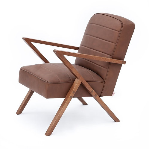 Retrostar Chair - Brown Leather