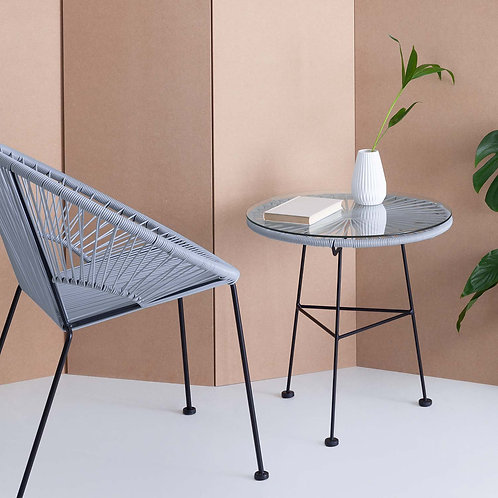 Grey Acapulco Side Table