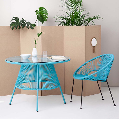 Blue Acapulco Dining Table