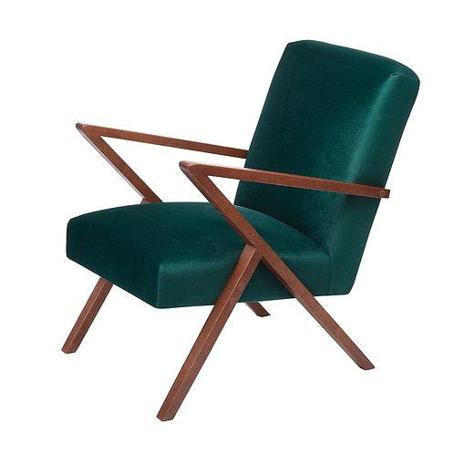 Retrostar Chair - Velvet Hunter Green