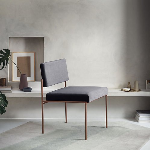 Cube Dining Chair - Velvet