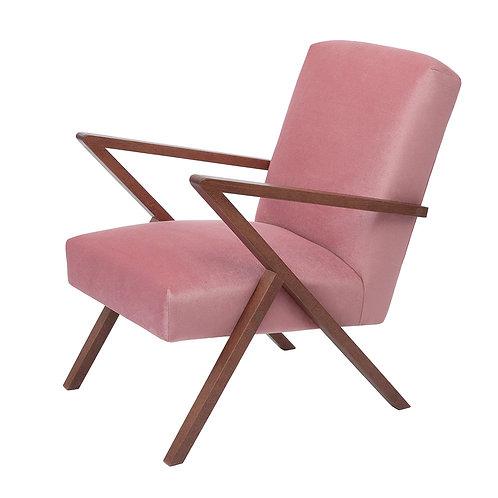 Retrostar Chair - Velvet Pink