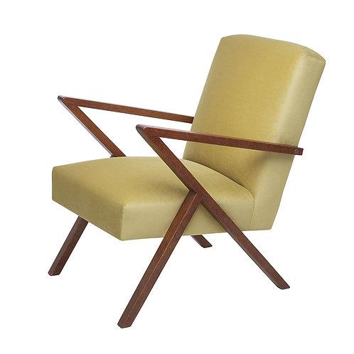 Retrostar Chair - Velvet Yellow