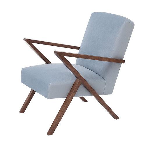 Retrostar Chair - Velvet Ice Grey