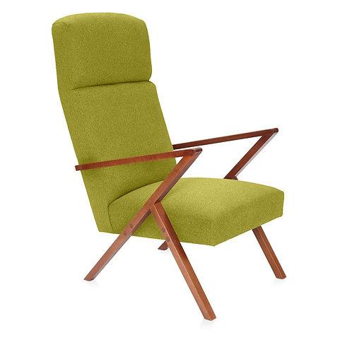 Retrostar Lounger - Classic Green