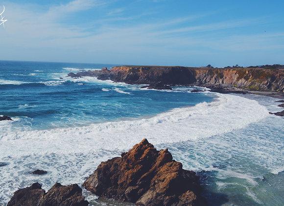 Blank Ocean View Card