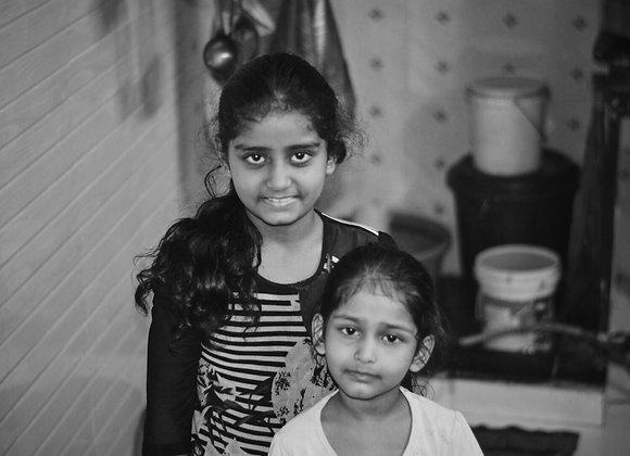 Sejal and Darshana