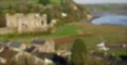Laugharne Casle