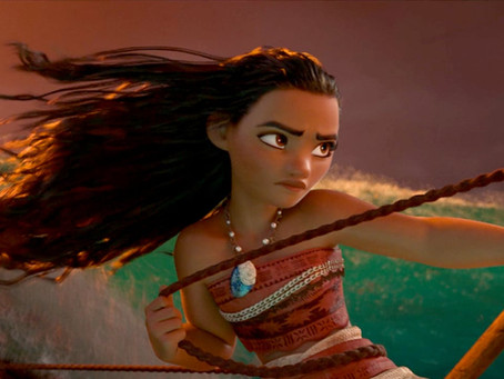 Moana, Queen of the Sea...and Story